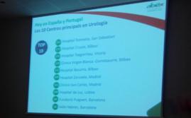 TOP 10 de la cirugía urológica robótica en la Península