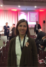 La Dra. Ainara Villafruela en Bruselas (Global Congress on Bladder Cancer)