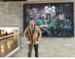 El Dr. Pablo Melendo en el Curso de Laparoscopia Experimental en Cáceres. Enero 17