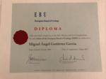 Diploma acreditativo del Título FEBU
