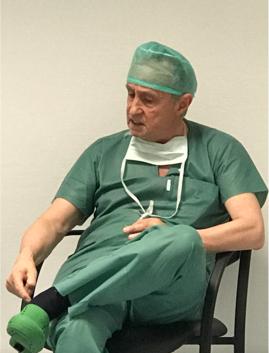 El Dr. Guido Barbagli en el HU Donostia