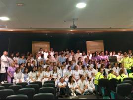 Personas implicadas en la Donación de órganos de la OSI Donostialdea