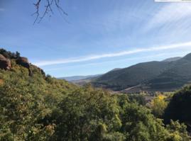 Vista desde el Monasterio de Suso