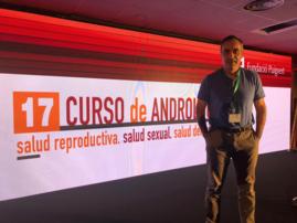 El Dr. G Garmendia en el 17º Curso de Andrología de la F Puigvert
