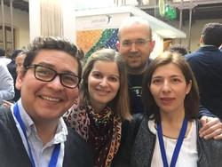 Con el amigo y compañero del H del Bidasoa, Igor Azurmendi, en Cádiz 4.16
