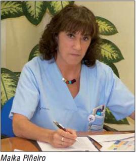 Maika Piñeiro. Supervisora de Urología del HU Donostia