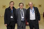 El Prof. Carballido con los Dra. Campá y Sanz Jaka. Uro Up Madrid 14
